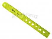 Линейка пластиковая неломайка 30 см