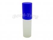 Пенал тубус пластмассовый, цвета крышек в ассортименте