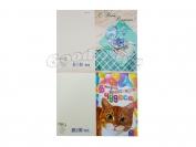 Поздравительные открытки формат А5 в ассортименте (мужские,женские,детские,свадьба) 1 уп. = 10 шт.