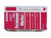 Маркер Diamond красный в уп. 12 шт.
