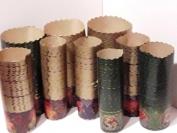 Формы для пасок. Пергамент коричневый 70 мм. 1 уп. = 50 шт.