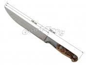Нож костяная ручка №5, 230 мм.