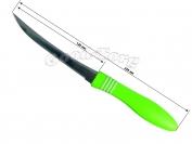 Нож на планшете пилка салатовая ручка фабричный Китай, 235 мм., 1 уп. = 12 шт. (продажа листом)