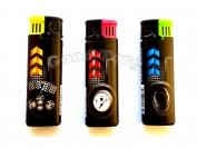 Зажигалка турбо с фонариком арт 936-3