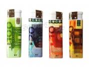 Зажигалка рисунок деньги