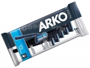 Одноразовый станок ARKO MEN, оригинал, 1уп.=5шт. (Турция)
