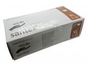 Медицинские перчатки Santex ХL 100 шт. Белый цвет (продажа упаковкой)